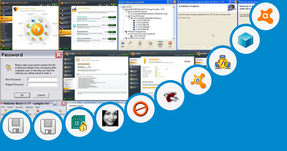 Software collection for Block P2p Applications