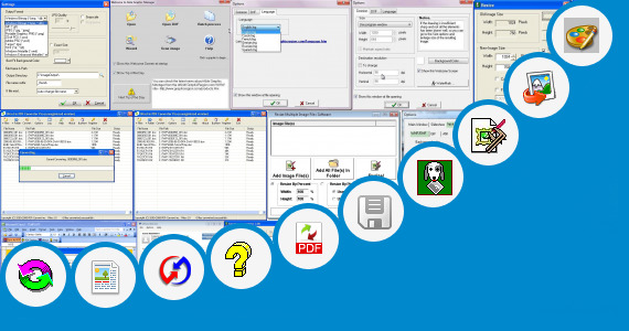 Software collection for Pict Graphic Converter