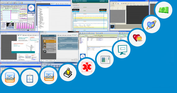 Software collection for Personal Health Pc Software
