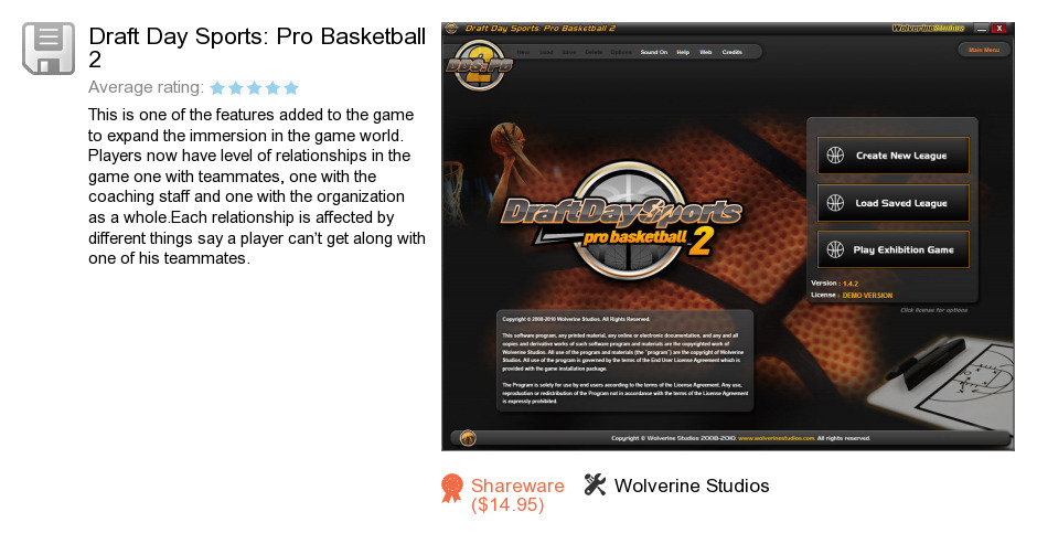 Draft Day Sports: Pro Basketball 2