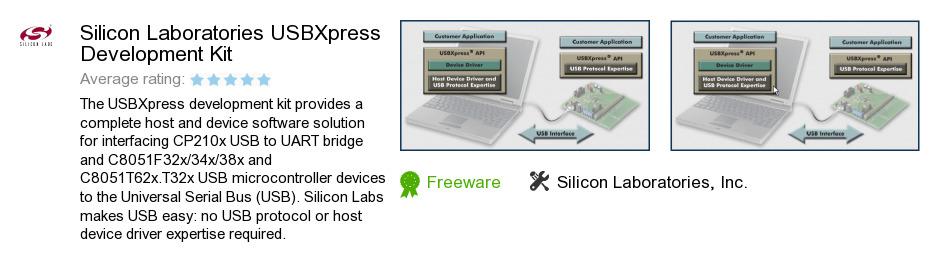 Silicon Laboratories USBXpress Development Kit