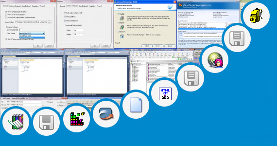Software collection for Microsoft Access Library Template