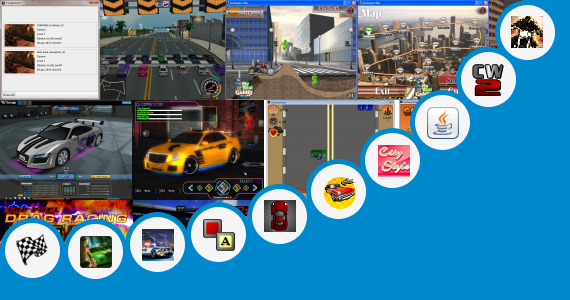 Software collection for City Racing Save Game