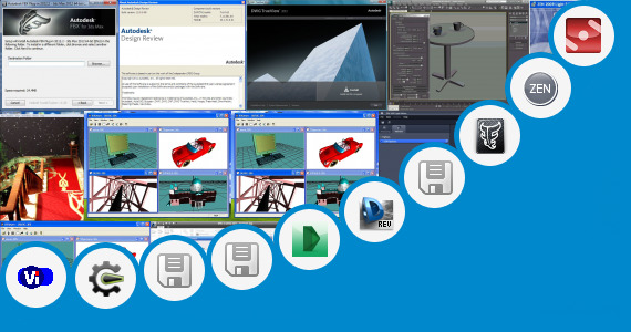 Software collection for Open Max File 2012 In 3ds Max 2009