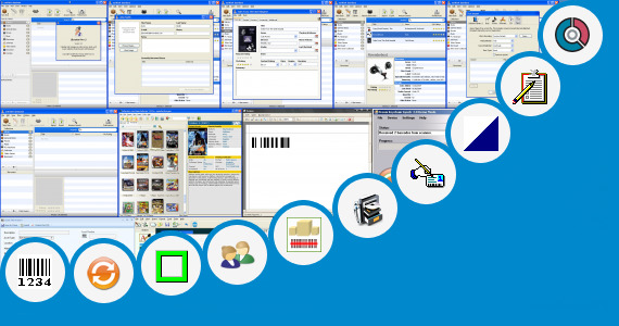 Software collection for Barcode Scanner Database Software