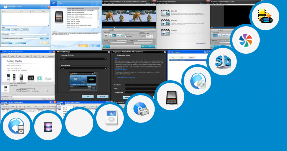 Software collection for Video Pad Video Professional