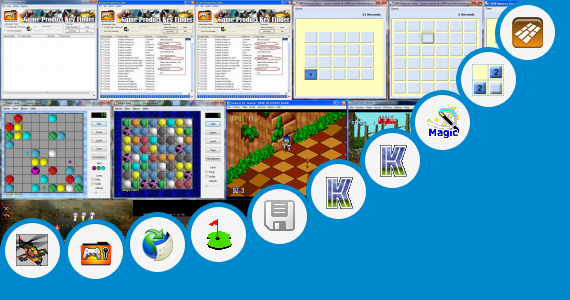 Software collection for Sonic Excel Game