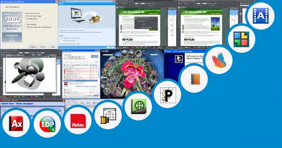 Software collection for Mazda Album Design Templates