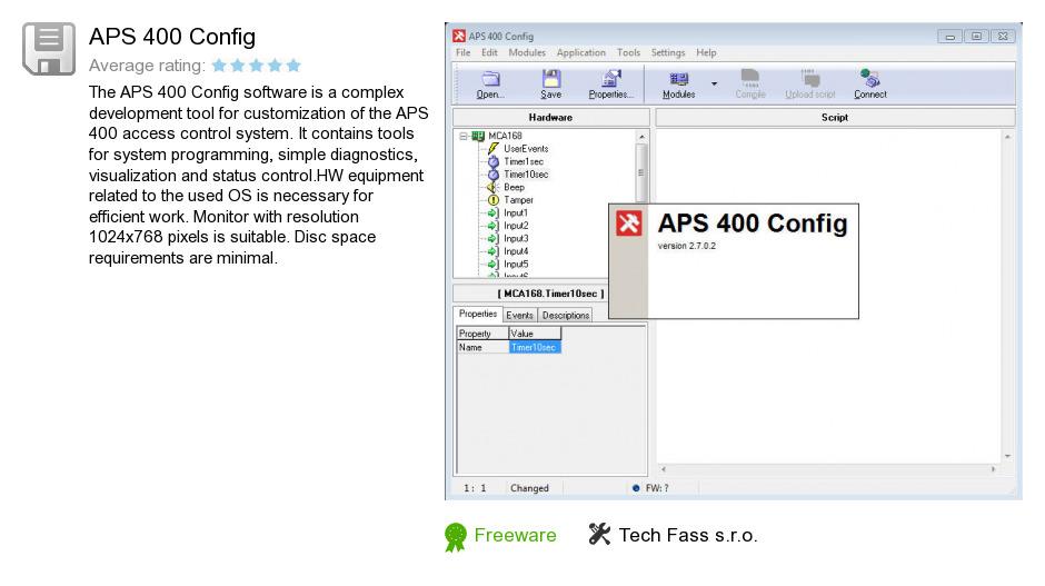 APS 400 Config