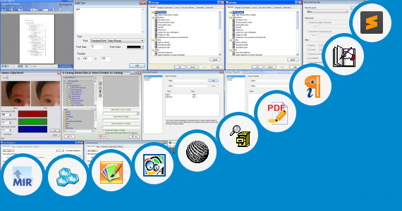 how to edit multiple text pdf file