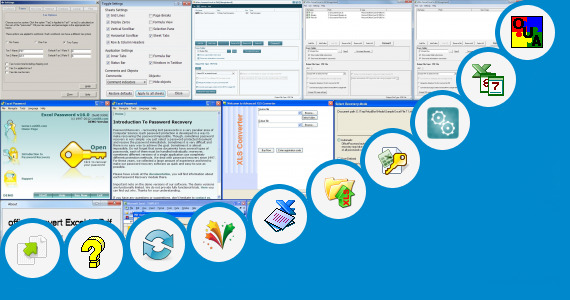 Software collection for Conquer Click Excel