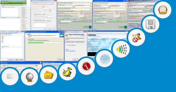 Software collection for 2012 Email Suppression List Txt