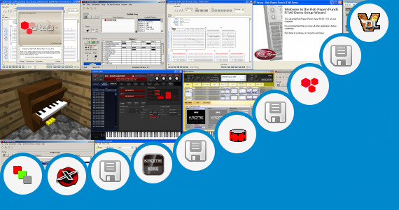 Software collection for Ultimate Drum Kit For