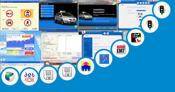 Official DSA Complete Theory Test Kit Tso Software