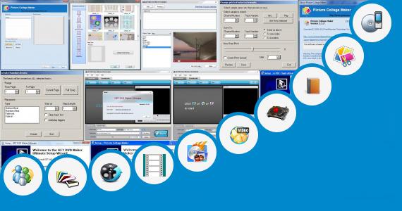 movie maker scrapbook effect online photo dvd maker