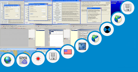 Software collection for Survey Calculations