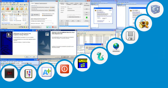 Software collection for Event Log Viewer Review