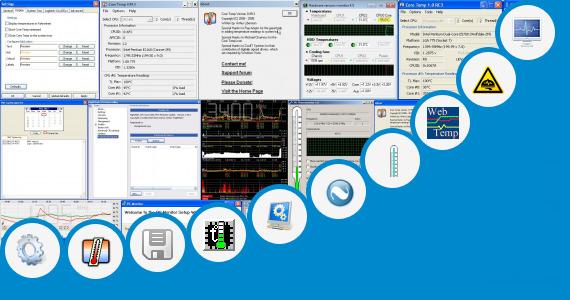 Software collection for Remote Cpu Temperature Monitor