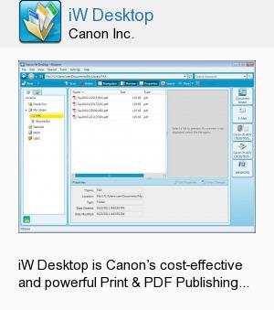 iW Desktop