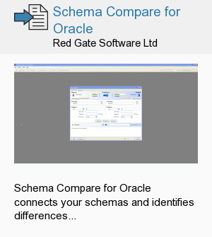 Schema Compare for Oracle
