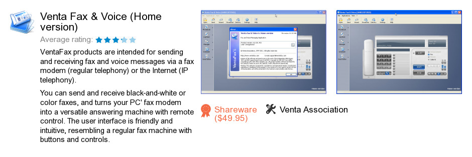 Venta Fax & Voice (Home version)
