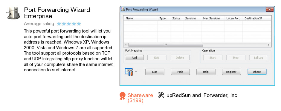 Port Forwarding Wizard Enterprise