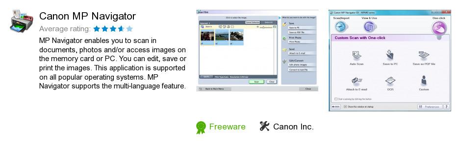 Canon MP Navigator