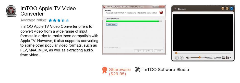 ImTOO Apple TV Video Converter