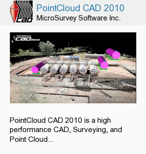 PointCloud CAD 2010