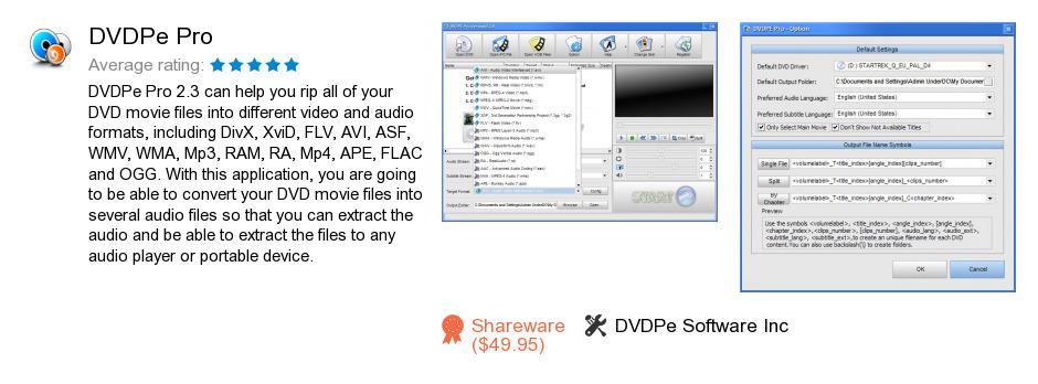 DVDPe Pro