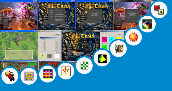 Software collection for Small Size Pc Games Rpg