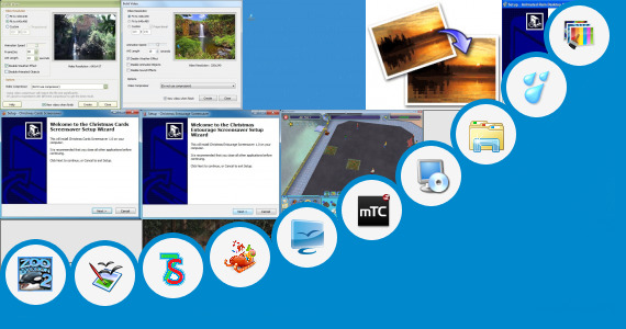 Software collection for Windows 7 Themes 3d Animated Themes
