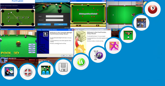 Software collection for Game Java 320x240 C3 8 Ball Pool