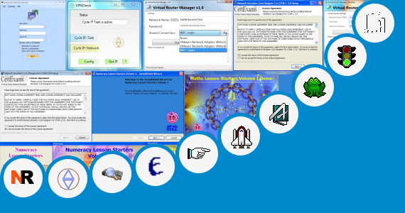 how to create virtual router in windows 7