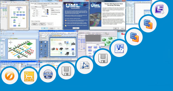 Software collection for Sequence Diagram Visio