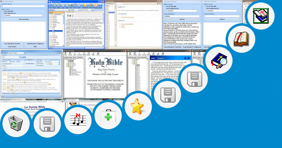Software collection for Niv Bible Text File