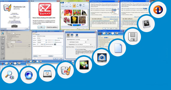 Software collection for Yahoo Mail Desktop Gadget