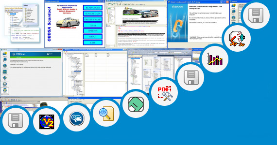Software collection for International Engine Trouble Codes