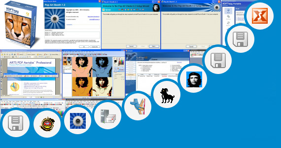 Software collection for Free Pop Art Generator
