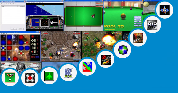 Software collection for Kontra Strike Game