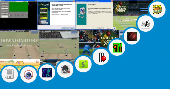 Software collection for Dora Cricket Games
