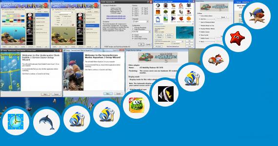 Software collection for Aquarium Desktop Slim Free