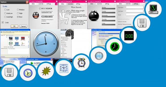 Software collection for Clock Face Template 24 Hour Clock