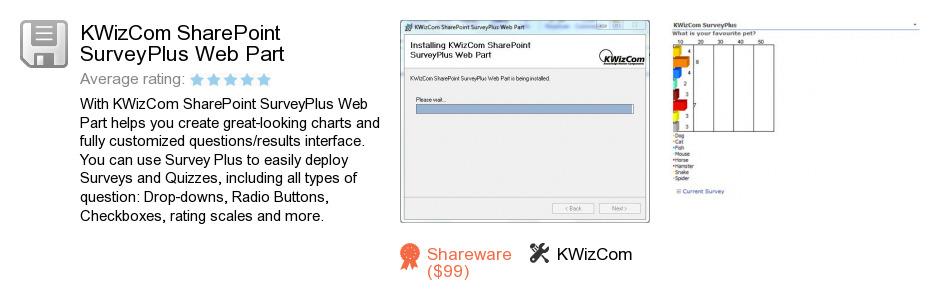 KWizCom SharePoint SurveyPlus Web Part