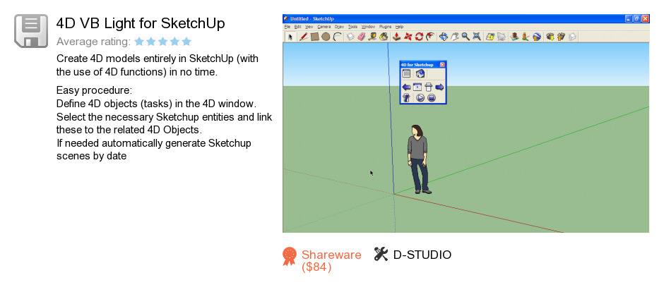 4D VB Light for SketchUp