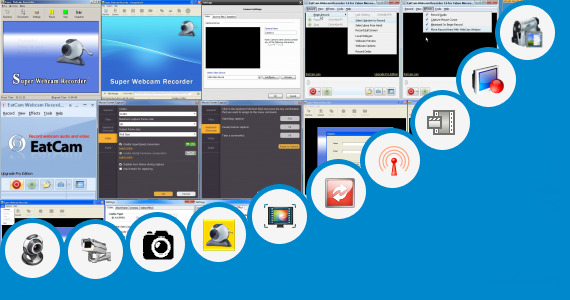 Full Screen Webcam Video Eatcam Recorder For Yahoo Messenger
