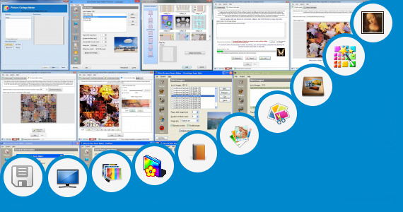 Software collection for Desktop Size Collage Maker