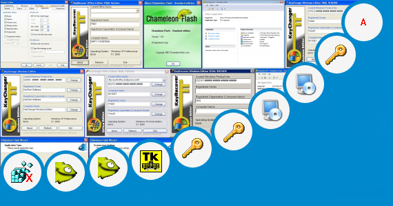 Software collection for Window 7 Dark Edition Product Key