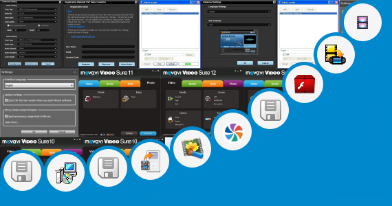 Software collection for Video Pad Plugins