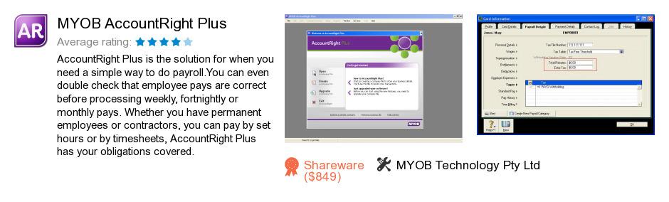 MYOB AccountRight Plus